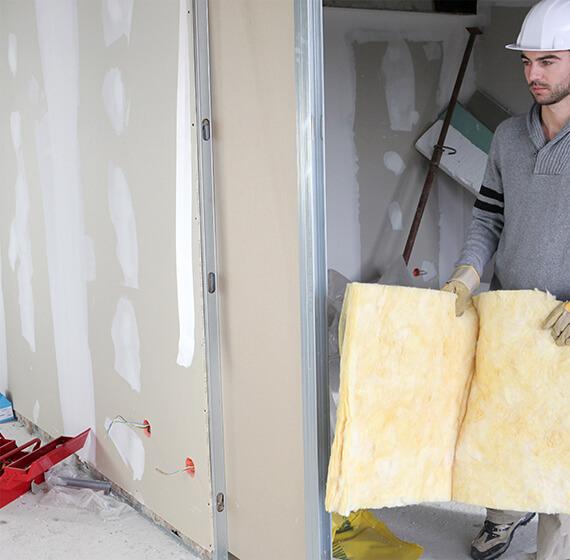 repairing drywalls and plastering service