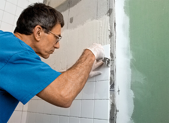 Tiling services by Paul's Handyman in Melbourne